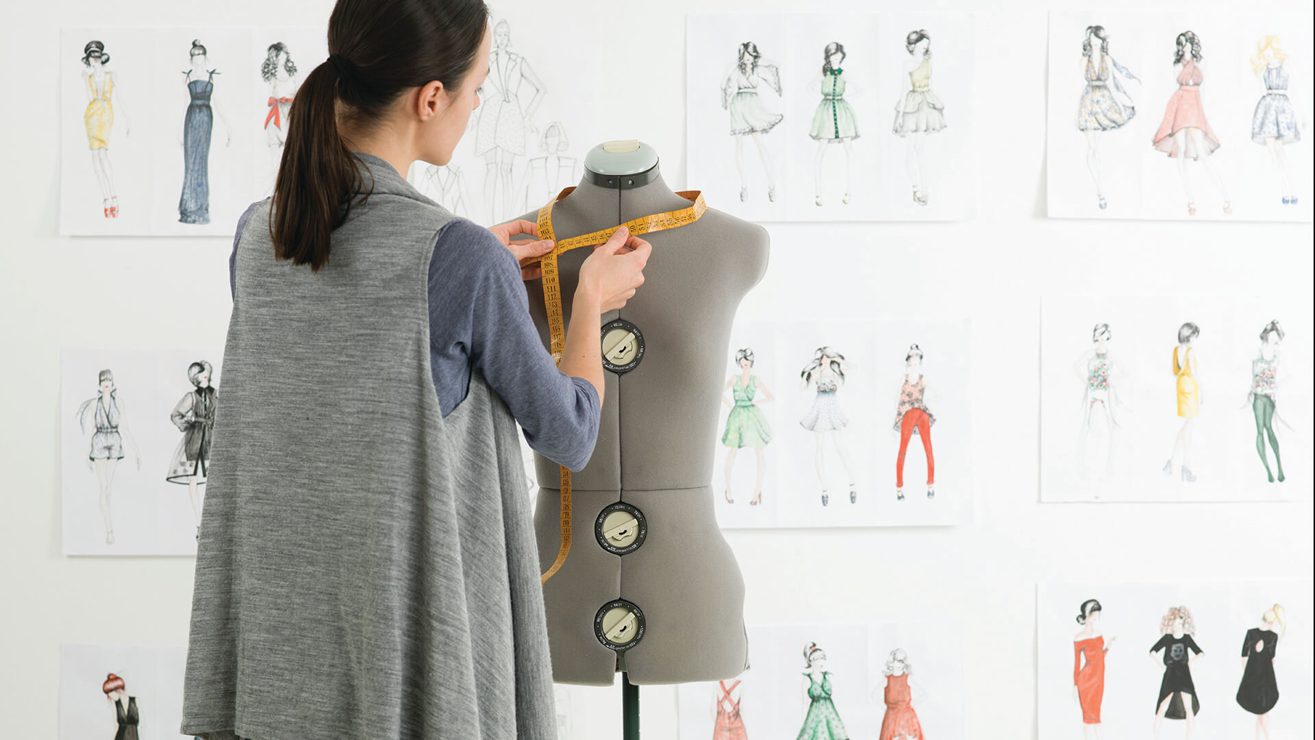 how to study fashion design at home