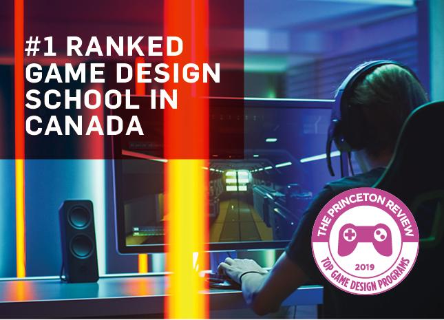 1 Undergrad School In Canada For Game Design